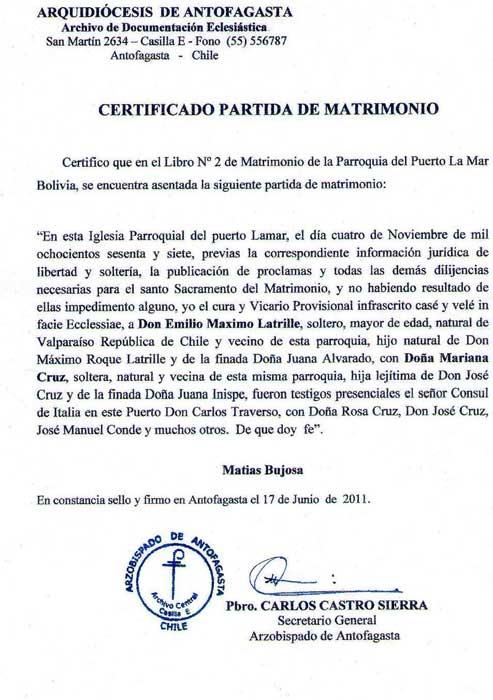 Matrimonio Civil O Religioso Biblia : Certificado de matrimonio bolivia imagui