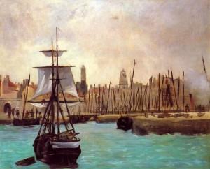 Edouard Manet - Impression Port de Bordeaux
